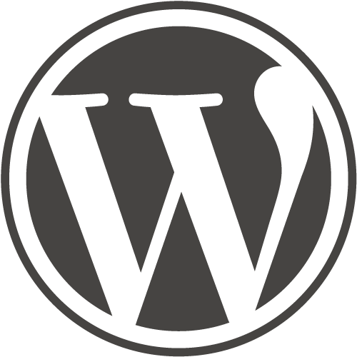 WordPress Button Logo